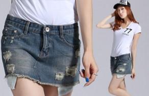 Trẻ Trung, Năng Động, Cá Tính Với Váy Jeans Nữ Thời Trang. Giá 130.000VNĐ, Còn 65.000VNĐ, Giảm 50%.