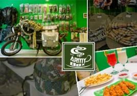 Khám Phá Điểm Hẹn Lý Tưởng Của Những Bạn Trẻ Yêu Thích Phượt – Cafe THE ARMY BOX. Voucher Set Ăn Uống Cho 02 Người Tại The Army Box Trị Giá 115.000Đ Giảm 40% Chỉ Còn 69.000Đ Tại