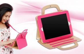 Bao Da Bảo Vệ iPad Hình Túi Xách Thời Trang– Kiểu Dáng Sang Trọng, Hiện Đại, Bảo Vệ Tối Đa Cho Chiếc iPad Của Bạn. Voucher 390.000 VNĐ, Còn 199.000VNĐ, Giảm 49%.