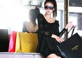 Mềm Mại Và Nữ Tính Với Váy Dạ Xòe Pha Ren Kiểu Dáng Thời Trang. Voucher 350.000Đ Chỉ Còn 179.000Đ. Giảm 49%
