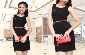 Đầm Cao Cấp Kiểu Dáng Chanel Màu Đen – Chất Liệu Kaki Nhẹ, Cùng Bạn Khẳng Định Phong Cách Thời Trang. Giá 298.000 VNĐ, Còn 149.000 VNĐ, Giảm 50%,