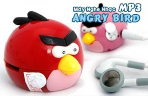 Máy Nghe Nhạc MP3 Hình Angry Bird – Kiểu Dáng Ngộ Nghĩnh, Cho Bạn Thỏa Sức Nghe Nhạc Ở Mọi Lúc, Mọi Nơi. Giá 150.000 VNĐ, Còn 89.000 VNĐ, Giảm 41%.