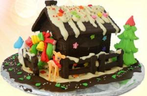 """Đón giáng sinh ngọt ngào hương vị chocolate thơm nồng. Tận hưởng cảm giác thú vị cùng sản phẩm chocolate """"Ngôi nhà hạnh phúc"""". Voucher 370.000 VNĐ, Còn 185.000 VNĐ, Giảm 50 %."""