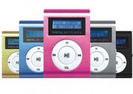 Âm Nhạc Đỉnh Cao Với Máy Nghe Nhạc MP3 Có Màn Hình Hiển Thị LCD Dọc. Sản Phẩm Trị Giá 220.000Đ Chỉ Còn 120.000Đ. Giảm 45%
