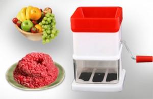 Máy Xay Thịt – Thiết Kể Nhỏ Gọn, Cách Sử Dụng Dễ Dàng – Cho Bạn Chế Biến Được Thật Nhiều Món Ăn. Giá 110.000VNĐ, Còn 57.000VNĐ, Giảm 48%.