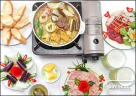 Hot Deal - Set Nam Bo Nuong Danh Cho 02 Nguoi + 02 Coc Bia Tai Nha Hang Am Thuc Viet. Voucher 250.000D Giam 42% Chi Con 145.000D Tai