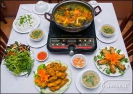 Hot Deal - Thuong Thuc Vi Moi La Cua Set Lau Rieu Cua Ga Danh Cho 02-03 Nguoi Tai Nha Hang Dong Giao. Voucher 510.000D Giam 66% Chi Con 175.000D Tai - 1 - An Uong - An Uong