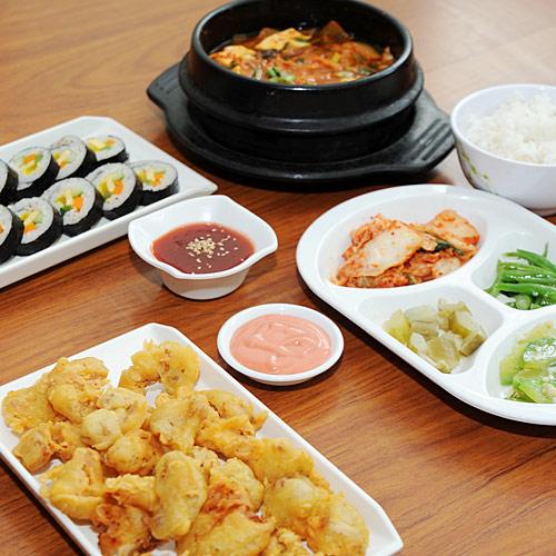 Set Ăn Hàn Quốc 2 Người NH Kimchi Kimbap