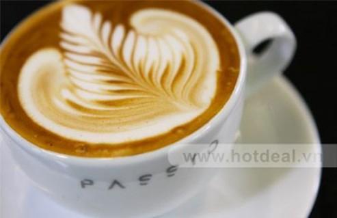 Thưởng Thức Các Loại Thức Uống Tinh Khiết Mang Đậm Hương Vị Việt, Phong Cách Ý Tại Café Passio. Voucher 100.000 VNĐ, Còn 69.000 VNĐ, Giảm 31 %.