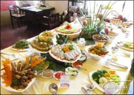 """Trải Nghiệm Tinh Hoa Ẩm Thực Với Bữa Tiệc Buffet Chay """" Nhớ Tâm Xưa"""" Hơn 30 Món Tại Nhà Hàng Bồ Đề Tâm. Voucher 195.000Đ Chỉ Còn 128.000Đ. Giảm 34%"""