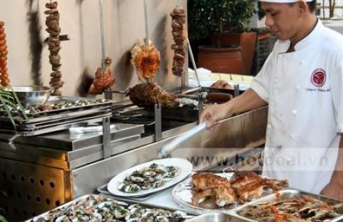 Thưởng Thức Buffet BBQ Vui Đón Giáng Sinh – Chúc Mừng Năm Mới Trong Không Gian Ấm Cúng Của Nhà Hàng Nam Phát. Giá 470.000 VNĐ, Còn 299.000 VNĐ, Giảm 36%.
