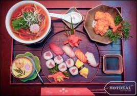 Hot Deal - Thuong Thuc Mon An Thom Ngon, Mang Dam Phong Cach Nhat Voi Set Do An Nhat Danh Cho 1 Nguoi Tai Nha Hang Akataiyo. Voucher 170.000D Giam 50% Chi Con 85.000D Tai