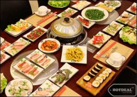 Hot Deal - Thuong Thuc Buffet Nuong Va Lau Theo Phong Cach Nhat - Han Tai Nha Hang KUMBO Voi Gan 100 Mon Thom Ngon Hap Dan. Voucher 330.000D Giam 43% Chi Con 189.000D Tai - 2 - An Uong - An Uong