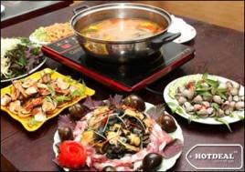 Hot Deal - Set Lau Oc Danh Cho 4 Nguoi Tai Nha Hang Moc Quan Voi Nhieu Mon Hai San Hap Dan, Thom Ngon Bo Duong: Sun Ga Rang Muoi, So Huyet Nuong, Ngao Xao Me…Voucher 489.000D Giam 46% Chi Con 265.000D Tai