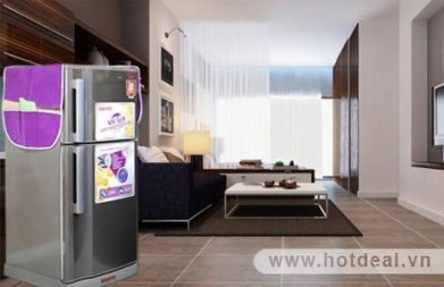 Bí Quyết Cho Tủ Lạnh Nhà Bạn Luôn Sạch Bụi Và Sáng Đẹp Như Mới – Tấm Phủ Tủ Lạnh Chống Bụi Đa Năng. Sản Phẩm Trị Giá 90.000Đ Chỉ Còn 45.000Đ, Giảm 50% Tại