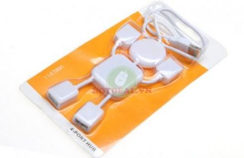 Làm Việc Hiệu Quả Với Hub USB 4 Cổng Hình Robot Tiện Dụng – Thiết Kế Nhỏ Gọn, Hình Dáng Ngộ Nghĩnh. Giá 94.000 VNĐ, Còn 47.000 VNĐ, Giảm 50 %.