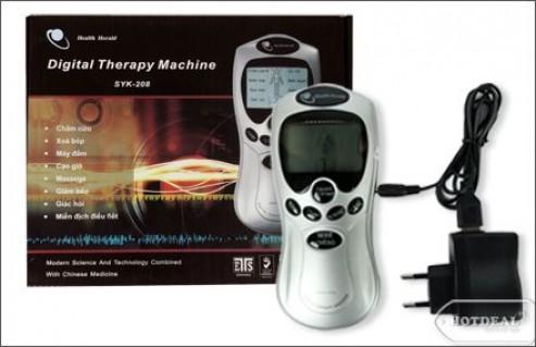 Máy Massage Xung Điện, Bấm Huyệt Digital Therapy Machine SKY – 208. Voucher 270.000Đ Chỉ Còn 135.000Đ. Giảm 50%