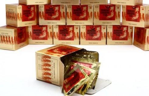 Combo 2 Hộp Trà Nhân Sâm Hàn Quốc Wongin – T – Đặc Chế Từ Nhân Sâm Nguyên Chất – Món Quà Tết Ý Nghĩa Cho Người Thân Yêu. Giá 180.000 VNĐ, Còn 99.000 VNĐ, Giảm 45%.