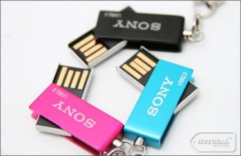 Thỏa Thích Lưu Trữ Và Truyền Tải Dữ Liệu Với USB Sony Vaio 8GB – Kiểu Dáng Gọn Nhẹ, Thời Trang, Tốc Độ Truyền Tải Nhanh. Giá 220.000 VNĐ, Còn 130.000 VNĐ, Giảm 41%.