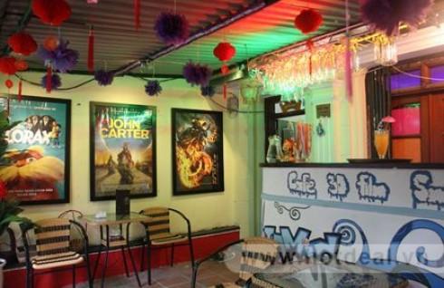 """Thưởng Thức Những Bộ Phim 3D Hấp Dẫn Với """"Rạp Chiếu Phim Thu Nhỏ"""" Tại Café phim 3D Smile - D. Voucher 120.000Đ Cho Set Ăn Uống Và Xem Phim Cho 02 Người, Giảm 51% Chỉ Còn 65.000Đ Tại - 2 - Sản Phẩm Giải Trí"""