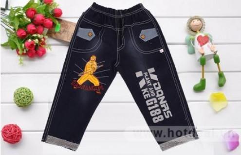 Quần Jeans Trẻ Em Nhiều Họa Tiết, Mang Lại Nét Khỏe Khoắn, Đáng Yêu Cho Bé. Sản Phẩm Trị Giá 140.000Đ Giảm 46% Chỉ Còn 75.000Đ Tại