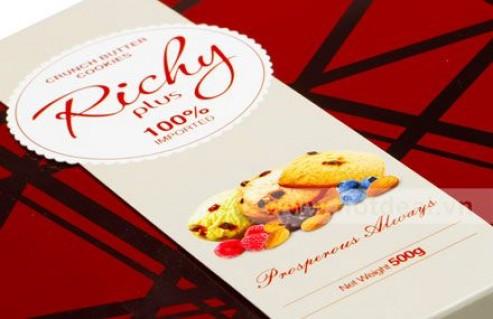 Cao Cấp – Sang Trọng – Lịch Với Bánh Crunch Butter Cookies 500gr, Xuất Xứ Malaysia, Hương Vị Thơm Ngon, Hảo Hạng, Cho Câu Chuyện Ngày Tết Thêm Ngọt Ngào. Giá 260.000 VNĐ, Còn 175.000 VNĐ, Giảm 33%.