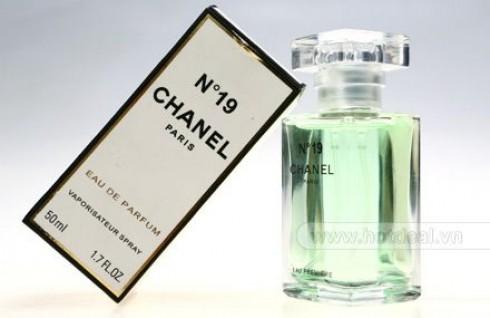 Nước Hoa Chanel No.19 – Dung Tích 50 ML, Hương Thơm Tươi Mát, Nữ Tính – Cho Phái Đẹp Thêm Lôi Cuốn Và Sang Trọng. Voucher 170.000 VNĐ, Còn 89.000 VNĐ, Giảm 48%.