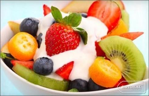 Thưởng Thức Các Loại Yogurt Thơm Ngon, Mát Lạnh, Bổ Dưỡng Trong Không Gian Hiện Đại Đầy Sắc Màu Tại Yogurt Teen. Voucher 60.000 VNĐ, Còn 33.000VNĐ, Giảm 45%.