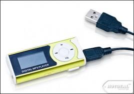 Tận Hưởng Âm Nhạc Mọi Lúc Mọi Nơi Với Máy Nghe Nhạc MP3 Màn Hình LCD Ngang. Sản Phẩm Trị Giá 210.000Đ Chỉ Còn 125.000Đ. Giảm 40%