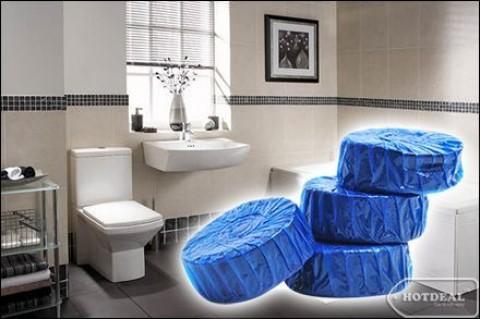 Để Bồn Cầu Nhà Bạn Luôn Sạch Bóng, Thơm Mát Với Combo 04 Viên Tẩy Vệ Sinh Toilet Hando. Bộ Sản Phẩm Trị Giá 90.000Đ Nay Chỉ Còn 45.000Đ, Giảm 50% Tại - 1 - Gia Dụng - Gia Dụng