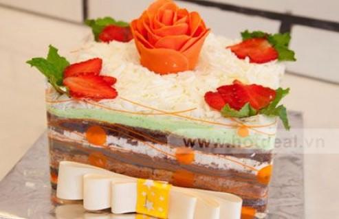 Ngày Vui Thêm Trọn Vẹn Và Ý Nghĩa Với Bánh Kem 6 – 8 Tầng Đặc Biệt Của Dallas Café & Cupcakes. Voucher 325.000 VNĐ, Còn 159.000 VNĐ, Giảm 51%.