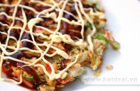 Thưởng Thức Bữa Tiệc Thịnh Soạn Với Buffet Bánh Xèo Nhật Và Sushi Tại Nhà Hàng Phố Ngân. Voucher 230.000Đ Chỉ Còn 119.000Đ. Giảm 48%