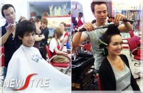 Sở Hữu Mái Tóc Chắc Khỏe Và Những Kiểu Tóc Ấn Tượng Với Các Dịch Vụ Làm Đẹp Và Chăm Sóc Tóc Tại Beauty Salon New Style. Voucher 300.000 VNĐ, Còn 55.000 VNĐ, Giảm 82%.