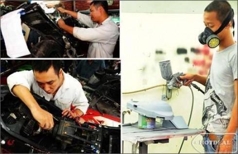 Kiểm Tra Toàn Diện Chiếc Xe Máy Thân Yêu Với Gói Bảo Dưỡng Xe (Bao Gồm Cả Xe Ga Và Xe Số) Tại Motor Tech. Voucher 90.000Đ Chỉ Còn 45.000Đ. Giảm 68%