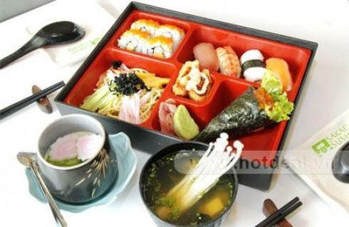 Thưởng Thức 1 Trong 6 Set Ăn Hấp Dẫn, Thơm Ngon Mang Phong Cách Nhật Tại Nhà Hàng Shabu Sushi. Voucher 150.000 VNĐ, Còn 75.000 VNĐ, Giảm 50%.