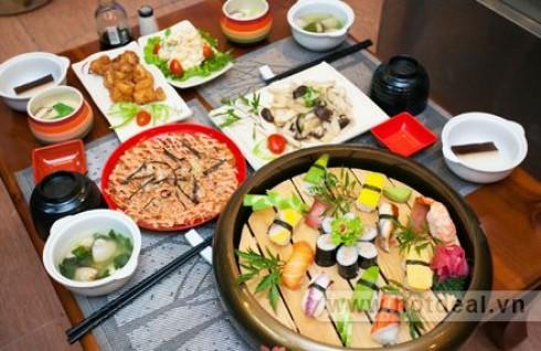Trải Nghiệm Nền Văn Hóa Ẩm Thực Nhật Bản Ngay Giữa Lòng Hà Nội Với Set Ăn Cho 02 Người Tại Nhà Hàng Sio Sushi. Voucher 345.000Đ Chỉ Còn 199.000Đ. Giảm 42%