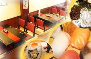 Thưởng Thức Món Ăn Thơm Ngon Theo Đúng Hương Vị Nhật Với 1 Trong 2 Set Menu Trưa Dành Cho 1 Người Tại Nhà Hàng Mặt Trời Đỏ. Voucher 170.000 VNĐ, Còn 85.000 VNĐ, Giảm 50%.