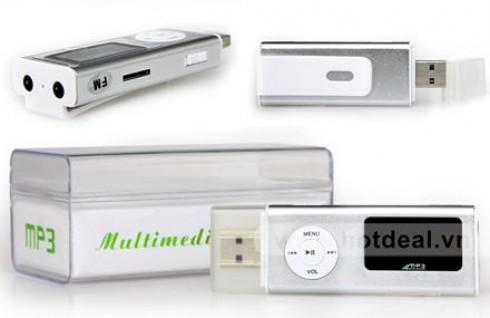 Máy Nghe Nhạc SHUFFLE Đa Chức Năng: MP3, Radio, Hoặc Thay Thế USB, Cho Bạn Thỏa Mãn Niềm Đam Mê Âm Nhạc. Giá 300.000 VNĐ, Còn 169.000 VNĐ, Giảm 44%.