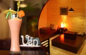 Thưởng Thức Café Xay Đúng Điệu Cùng Các Món Nước Thơm Ngon Trong Menu Của Văn Café. Voucher 60.000 VNĐ, Còn 30.000 VNĐ, Giảm 50%,