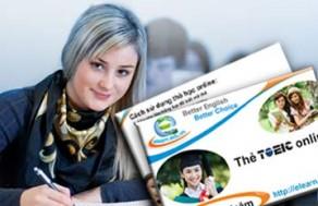 Tự Tin Nâng Cao Khả Năng Giao Tiếp Tiếng Anh Với Thẻ Học TOEIC Trực Tuyến Tại Elearn.edu.vn – Thời Hạn 1 Năm. Voucher 99.000 VNĐ, Còn 45.000 VNĐ, Giảm 55%.