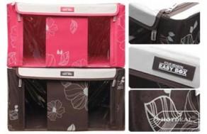 Tủ Vải Di Động Easy Box – Chất Liệu Polyester – Giữ Cho Không Gian Nhà Bạn Luôn Gọn Gàng, Sạch Sẽ. Giá 390.000 VNĐ, Còn 229.000 VNĐ, Giảm 41%.
