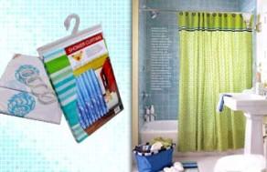 Màn Treo Phòng Tắm – Chất Liệu Nhựa PVC Chống Thấm Nước Hiệu Quả - Giúp Bạn Che Chắn Và Phân Chia Phòng Tắm Hợp Lý Hơn. Giá 130.000 VNĐ, Còn 65.000 VNĐ, Giảm 50%.