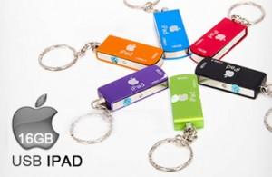 Tha Hồ Lưu Trữ Các Dữ Liệu Quan Trọng Với USB iPad 16Gb – Thiết Kế Thời Trang, Nắp Xoay Tiện Dụng, Sản Phẩm Được Bảo Hành 1 Năm. Giá 250.000 VNĐ, Còn 199.000 VNĐ, Giảm 20%.