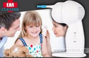 Hút Ráy Tai Và Làm Sạch Bụi Bẩn Phía Sâu Bên Trong Tai Một Cách An Toàn Với Máy Vệ Sinh Tai Ear Cleaner. Sản Phẩm Trị Giá 210.000Đ Chỉ Còn 130.000Đ. Giảm 38%