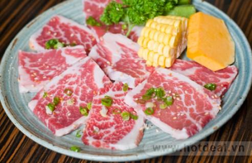 Thưởng Thức Hương Vị Thịt Bò Mỹ Nướng BBQ Thơm Ngon, Hấp Dẫn Dành Cho 1 Người Tại Nhà Hàng Yamato Yakiniku. Voucher 210.000Đ Chỉ Còn 115.000Đ. Giảm 45%