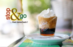 Xua Tan Cái Oi Bức Của Mùa Hè Sài Gòn Với Những Ly Thức Uống Thơm Ngon, Mát Lạnh Tại Stop & Go Coffee. Voucher 50.000 VNĐ, Còn 29.000 VNĐ, Giảm 42%.