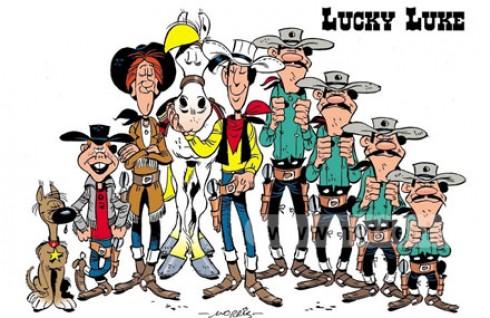 Cùng Chàng Cao Bồi Lucky Luke Khám Phá Và Chinh Phục Miền Viễn Tây Nước Mỹ Với Bộ Truyện Tranh Lucky Luke Tập 2 Đến Tập 10. Giá 222.300 VNĐ, Còn 111.000 VNĐ, Giảm 50%.