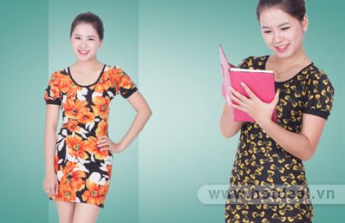 Váy Họa Tiết Dáng Ôm - Giúp Tôn Dáng, Tạo Phong Cách Năng Động, Trẻ Trung Cho Phái Đẹp. Sản Phẩm Trị Giá 170.000Đ Chỉ Còn 85.000Đ. Giảm 50%
