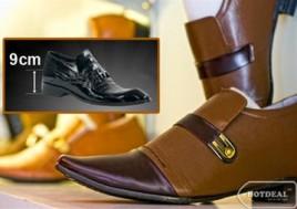 Tự Tin, Thanh Lịch Với Giầy Nam Tăng Chiều Cao Tại Westman Lucky Shoes. Voucher 400.000Đ Chỉ Còn 80.000Đ. Giảm 80%