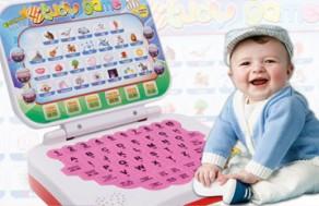 Laptop Mini Học Tiếng Anh Cho Bé – Kiểu Dáng Nhỏ Gọn, Xinh Xắn – Giúp Cho Bé Vừa Học Vừa Chơi Hiệu Quả. Giá 165.000 VNĐ, Còn 89.000 VNĐ, Giảm 46%.